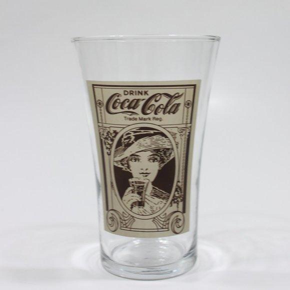 Coca Cola Other - Coca-Cola 16oz Flare Glass Reproduction